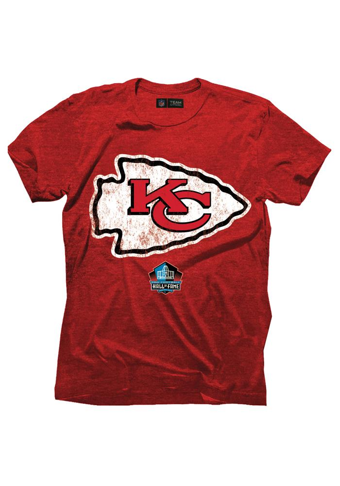Derrick Thomas Kansas City Chiefs Red Hall of Fame Short Sleeve Fashion Player T Shirt - Image 3