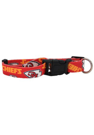 Kansas City Chiefs Team Pet Collar