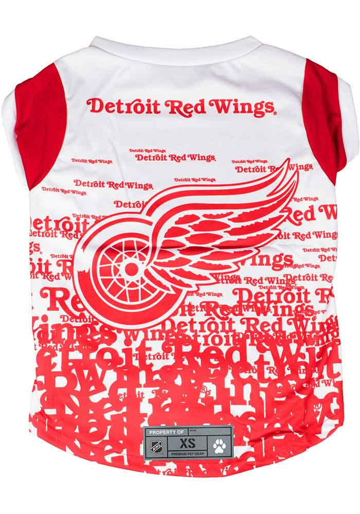 Detroit Red Wings Team Pet T-Shirt - Image 1
