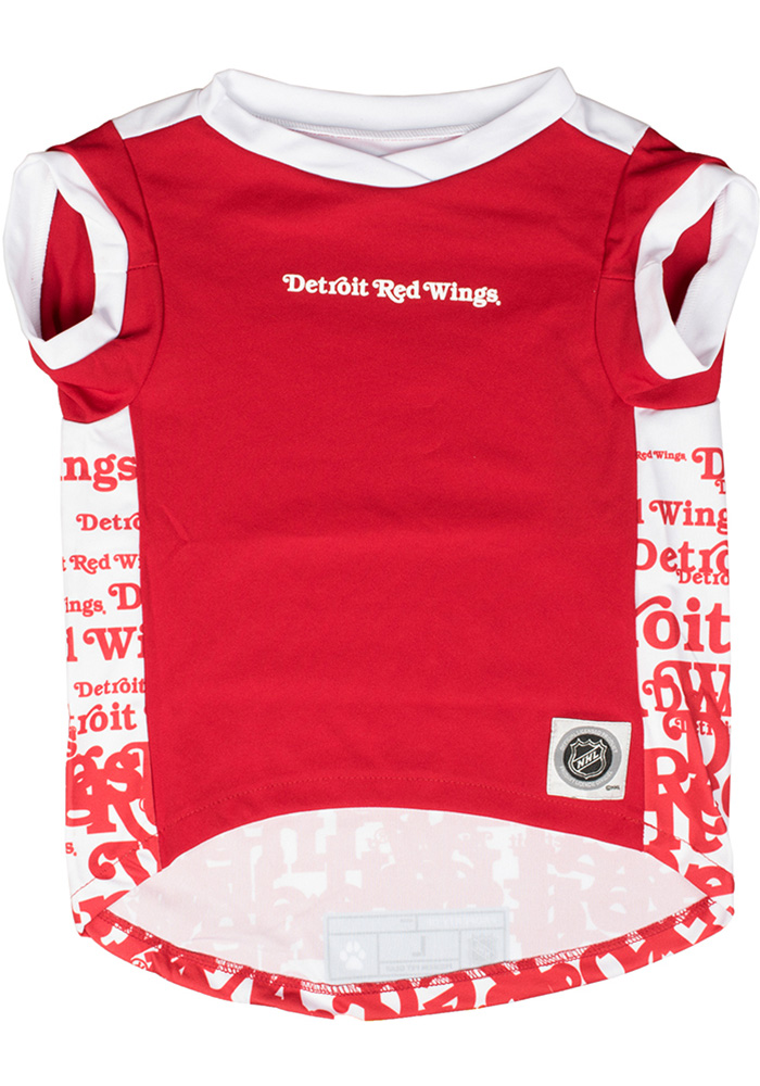 Detroit Red Wings Team Pet T-Shirt - Image 2