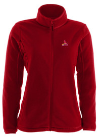 St Louis Cardinals Womens Antigua Ice Medium Weight Jacket - Red