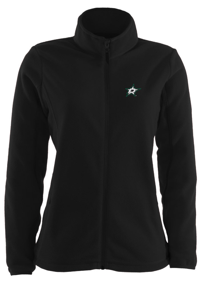 Antigua Dallas Stars Womens Black Ice Light Weight Jacket - Image 1