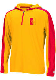 Pitt State Gorillas Youth Colosseum Helisking Quarter Zip - Red