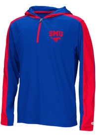 SMU Mustangs Youth Colosseum Helisking Quarter Zip - Red