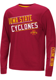Iowa State Cyclones Youth Colosseum Groomed T-Shirt - Cardinal