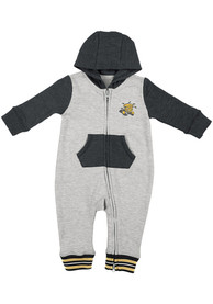 Wichita State Shockers Baby Colosseum Axel One Piece - Grey