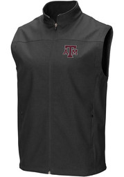 Colosseum Texas A&M Aggies Mens Charcoal Bobsled Vest Sleeveless Jacket