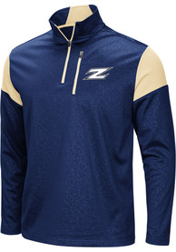 Akron Zips Colosseum Luge 1/4 Zip Pullover - Navy Blue