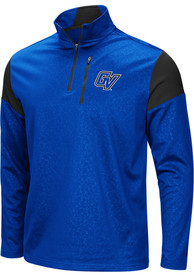 Grand Valley State Lakers Colosseum Luge 1/4 Zip Pullover - Blue