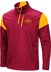 Iowa State Cyclones Colosseum Luge 1/4 Zip Pullover - Cardinal