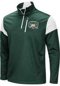 Ohio Bobcats Colosseum Luge 1/4 Zip Pullover - Black