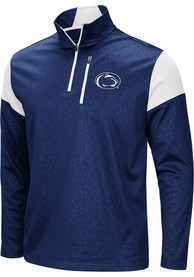 Penn State Nittany Lions Colosseum Luge 1/4 Zip Pullover - Navy Blue