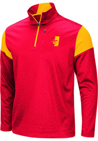 Pitt State Gorillas Colosseum Luge 1/4 Zip Pullover - Red