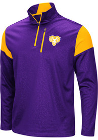 West Chester Golden Rams Colosseum Luge 1/4 Zip Pullover - Purple