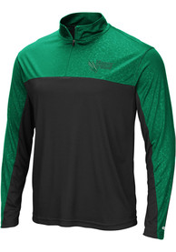 North Texas Mean Green Colosseum Luge 1/4 Zip Pullover - Green