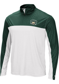 Ohio Bobcats Colosseum Luge 1/4 Zip Pullover - Green
