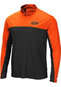 Oklahoma State Cowboys Colosseum Luge 1/4 Zip Pullover - Orange