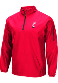 Cincinnati Bearcats Colosseum Tips Pullover Jackets - Red