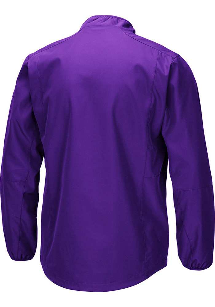 Colosseum K-State Wildcats Mens Black Tips Pullover Jackets - Image 2