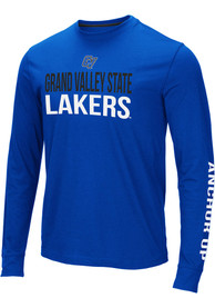 Grand Valley State Lakers Colosseum Lutz T Shirt - Blue