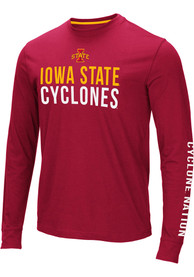 Iowa State Cyclones Colosseum Lutz T Shirt - Cardinal