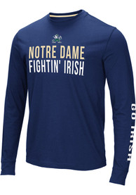 Notre Dame Fighting Irish Colosseum Lutz T Shirt - Navy Blue