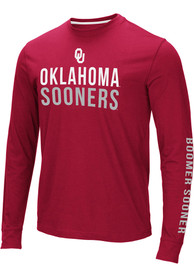 Oklahoma Sooners Colosseum Lutz T Shirt - Crimson