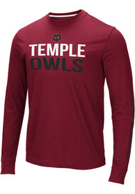Temple Owls Colosseum Lutz T Shirt - Red