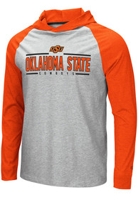 Oklahoma State Cowboys Colosseum Slopestyle Hooded Sweatshirt - Grey