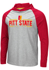 Pitt State Gorillas Colosseum Slopestyle Hooded Sweatshirt - Grey