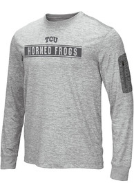 TCU Horned Frogs Colosseum Banked T-Shirt - Grey