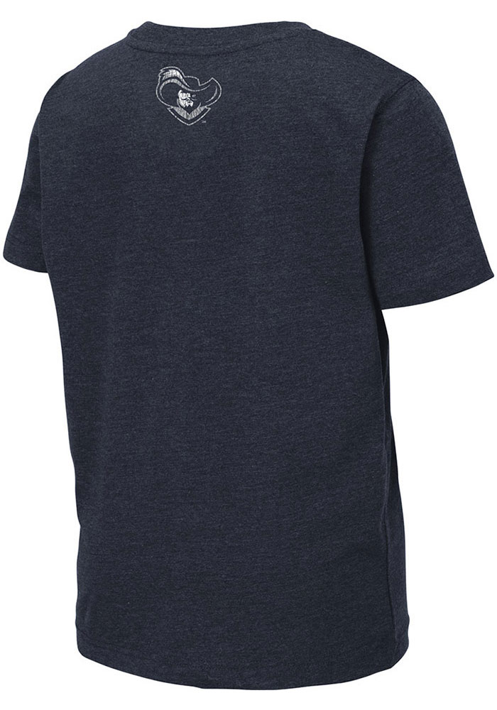 Colosseum Xavier Musketeers Youth Navy Blue Toronto Short Sleeve Fashion T-Shirt - Image 2
