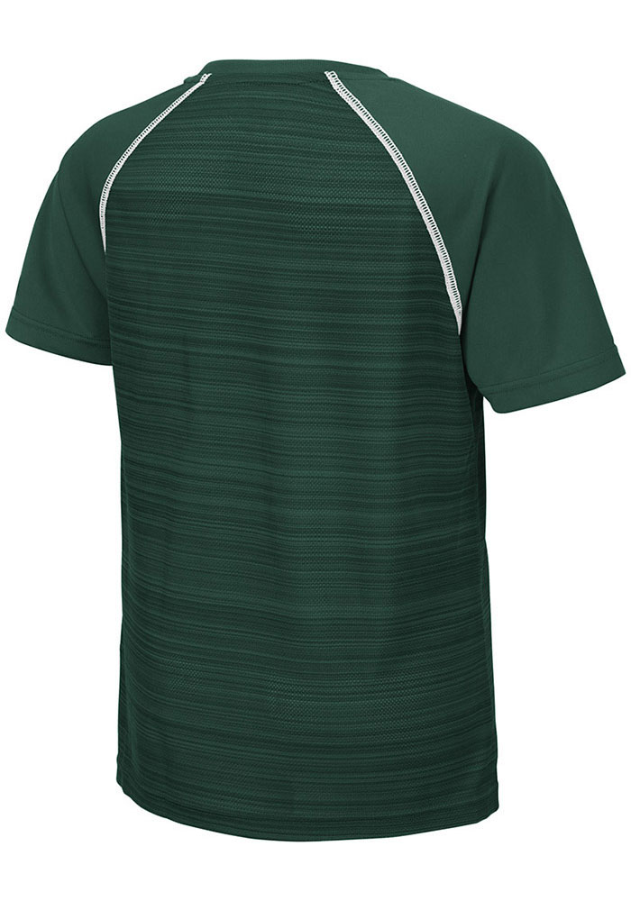 Colosseum Michigan State Spartans Youth Green Buenos Aires Short Sleeve T-Shirt - Image 2