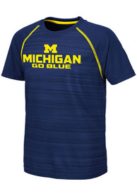 Michigan Wolverines Youth Colosseum Buenos Aires T-Shirt - Navy Blue