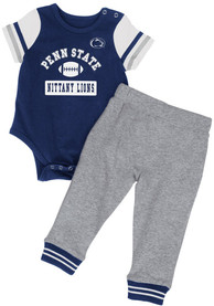 Penn State Nittany Lions Infant Colosseum MVP Top and Bottom - Navy Blue