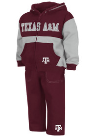 Texas A&M Aggies Toddler Colosseum Midfield Top and Bottom - Maroon