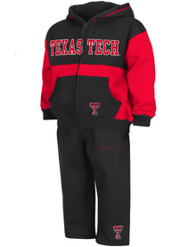 Texas Tech Red Raiders Toddler Colosseum Midfield Top and Bottom - Red