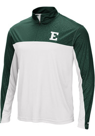 Eastern Michigan Eagles Colosseum Luge 1/4 Zip Pullover - White