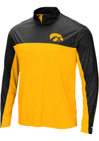 Iowa Hawkeyes Colosseum Luge 1/4 Zip Pullover - Yellow