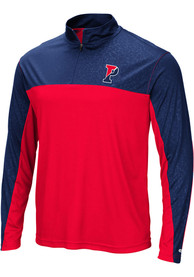 Pennsylvania Quakers Colosseum Luge 1/4 Zip Pullover - Red