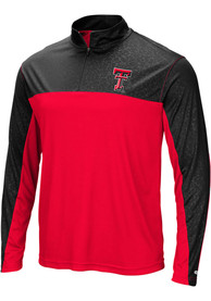 Texas Tech Red Raiders Colosseum Luge 1/4 Zip Pullover - Red