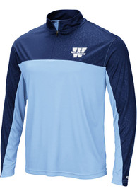 Washburn Ichabods Colosseum Luge 1/4 Zip Pullover - Light Blue