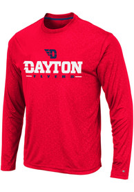 Dayton Flyers Colosseum Luge Perf T-Shirt - Red