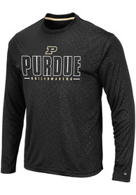 Purdue Boilermakers Colosseum Luge Perf T-Shirt - Black