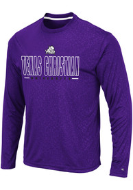 TCU Horned Frogs Colosseum Luge Perf T-Shirt - Purple