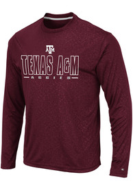 Texas A&M Aggies Colosseum Luge Perf T-Shirt - Maroon