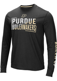 Purdue Boilermakers Colosseum Lutz T Shirt - Black