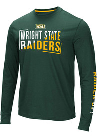 Wright State Raiders Colosseum Lutz T Shirt - Green