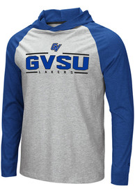 Grand Valley State Lakers Colosseum Slopestyle Hooded Sweatshirt - Grey