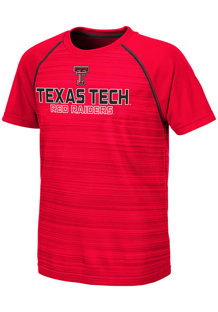 Colosseum Texas Tech Red Raiders Youth Red Buenos Aires Short Sleeve T-Shirt - Image 1